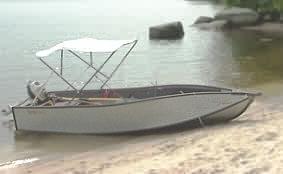 PORTA-Bimini-Top Sonnendach für Porta-Bote Faltboot